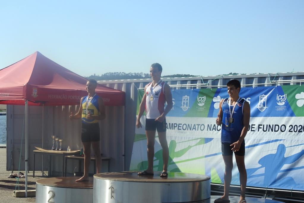 Adolfo Ferreira um Campeão a Remar