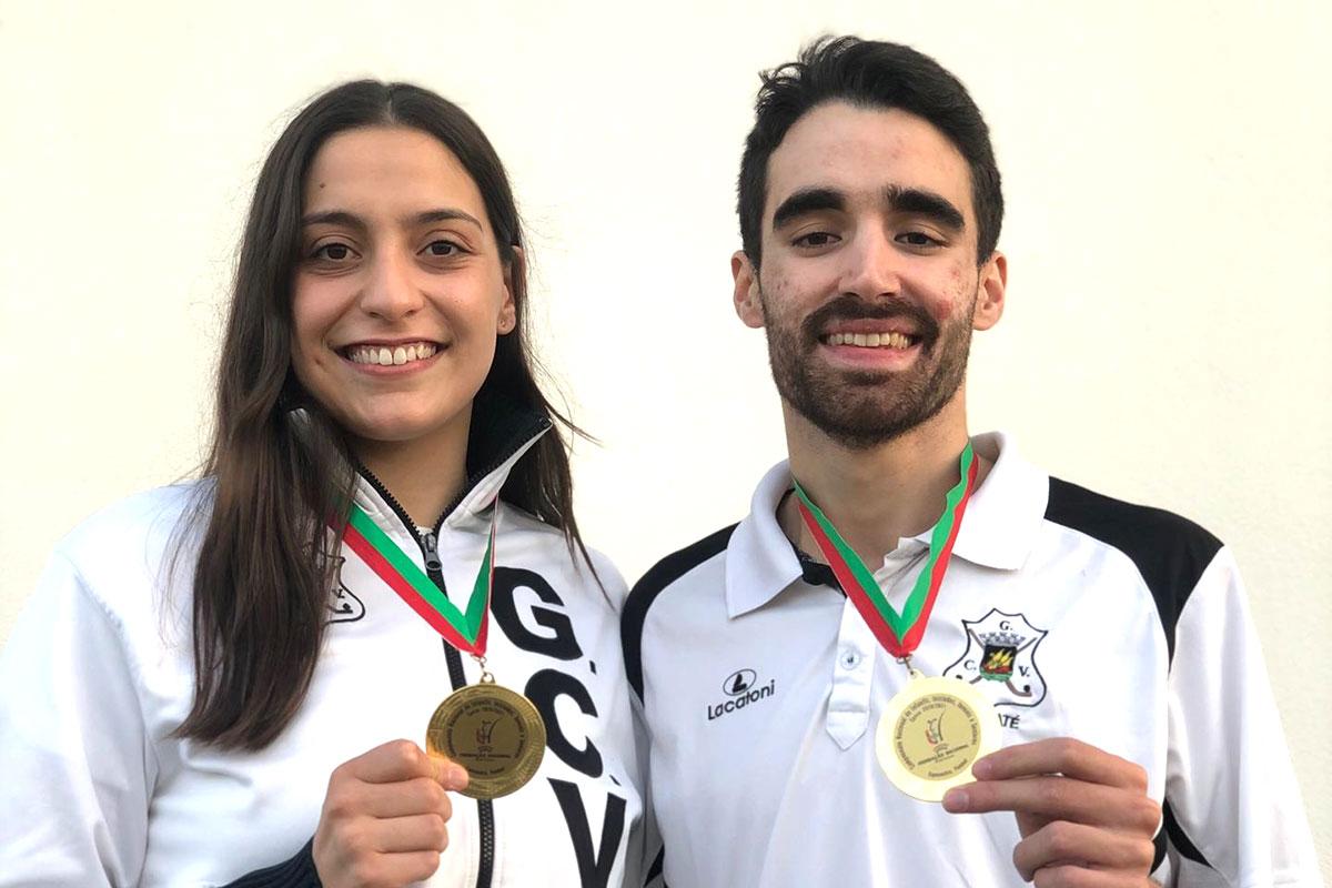 GCV: Joaquim Mendes e Rita Oliveira Campeões de Karaté