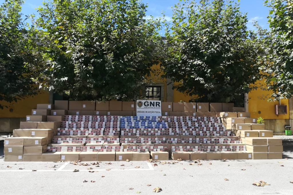 Apreensão de Tabaco de Contrabando em Vila do Conde