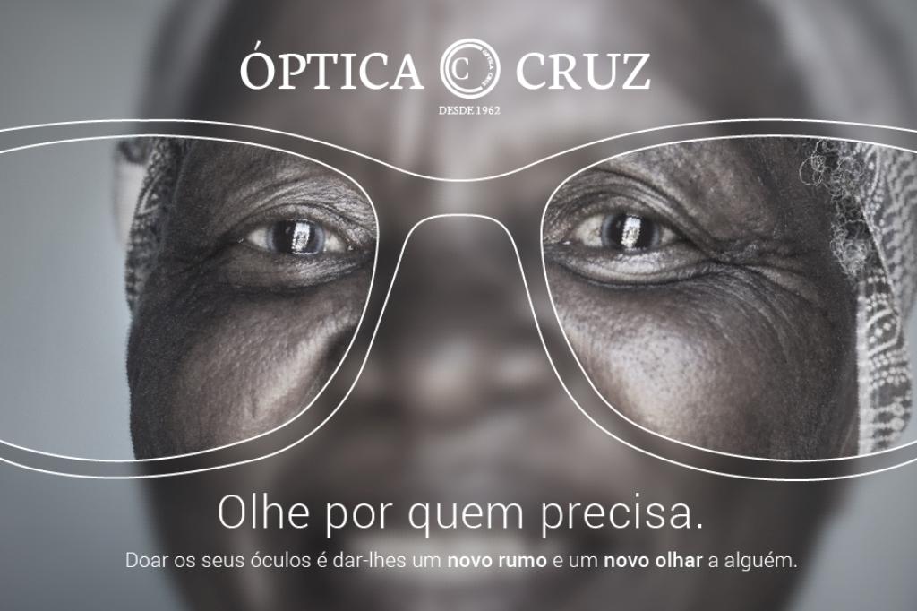 Óptica Cruz Lança Campanha Solidária