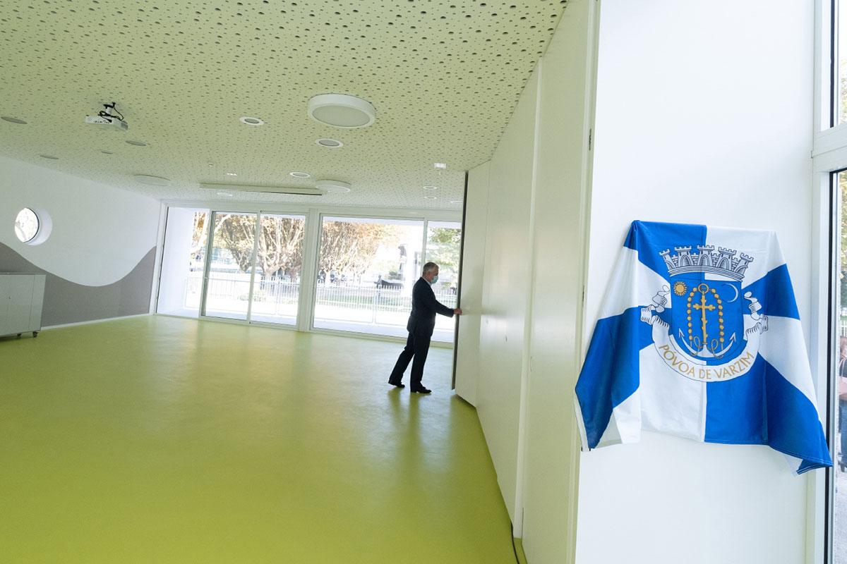 Escola Ficou Mais Nova com Pavilhão Multiusos