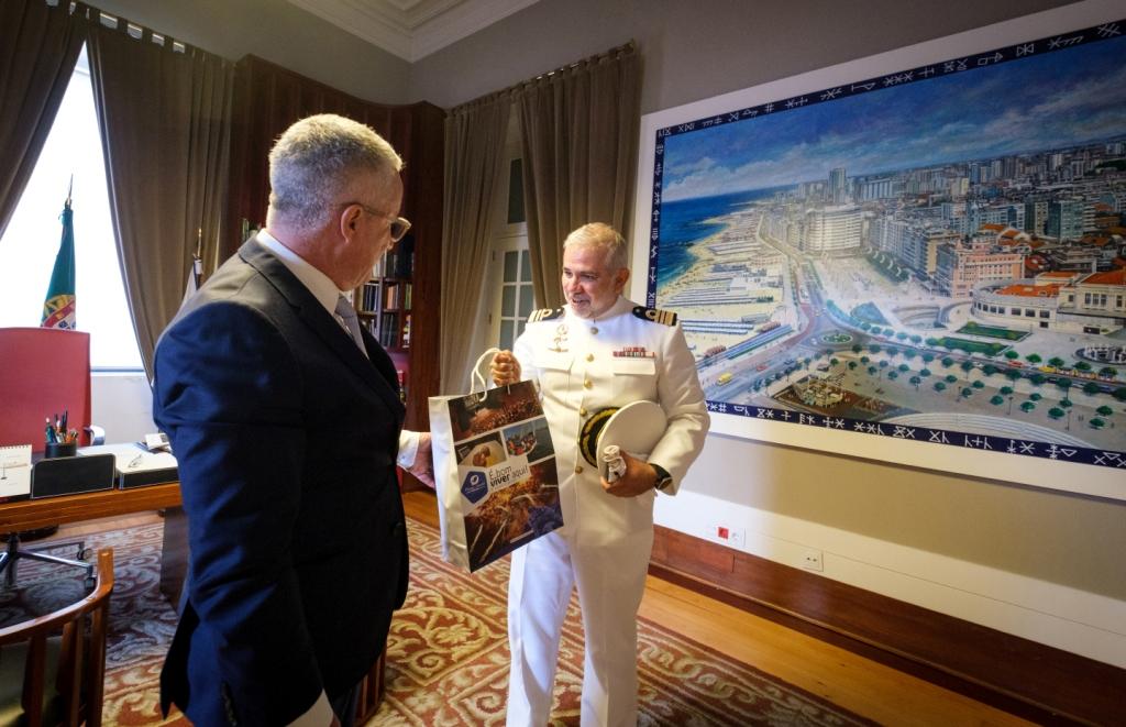 Novo Comandante das Capitanias da Póvoa de Varzim e Vila do Conde