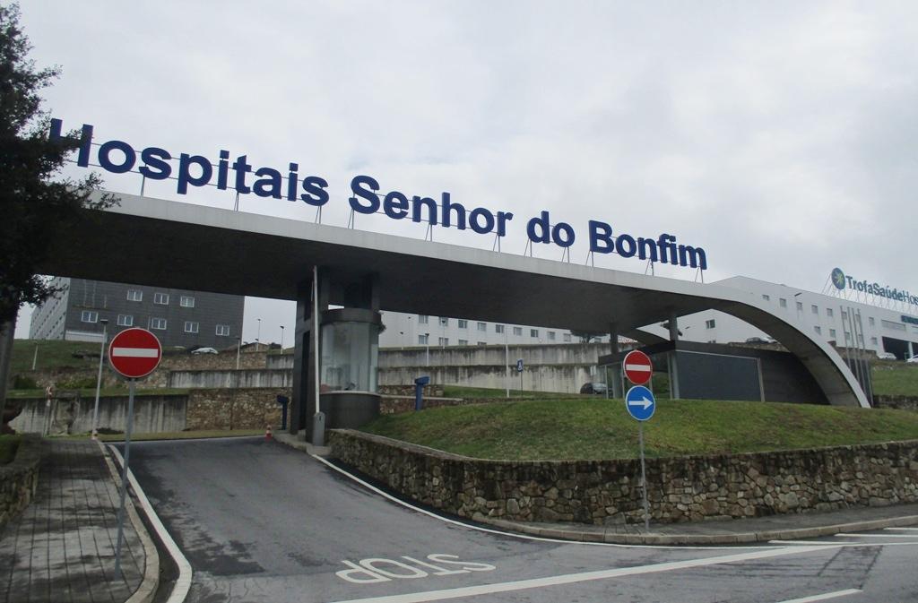 Hospital Senhor do Bonfim recebe doentes Covid