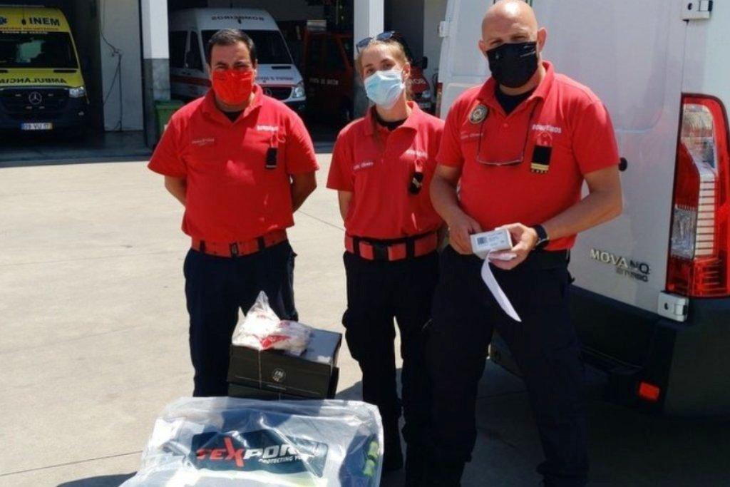 LIPOR: Bombeiros da Póvoa recebem donativos