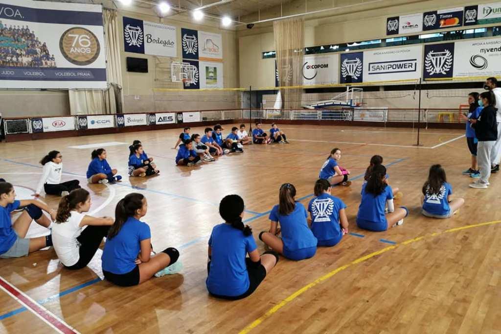 Voleibol no Feminino do CDP Fora da Taça de Portugal