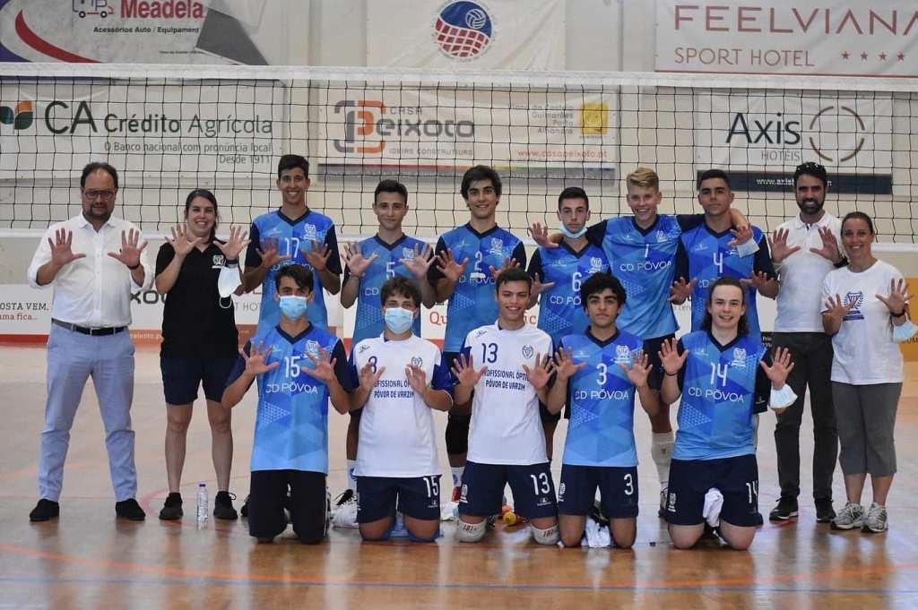 Desportivo da Póvoa É Campeão Nacional de Voleibol de Cadetes