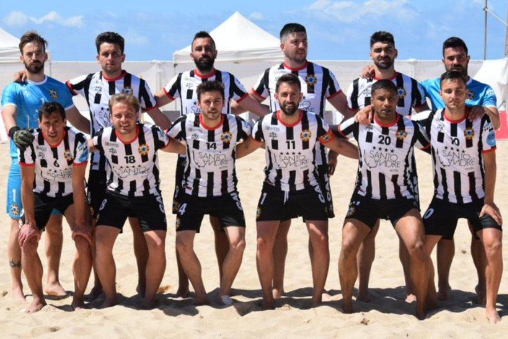 Varzim Soma e Segue na Taça de Futebol de Praia