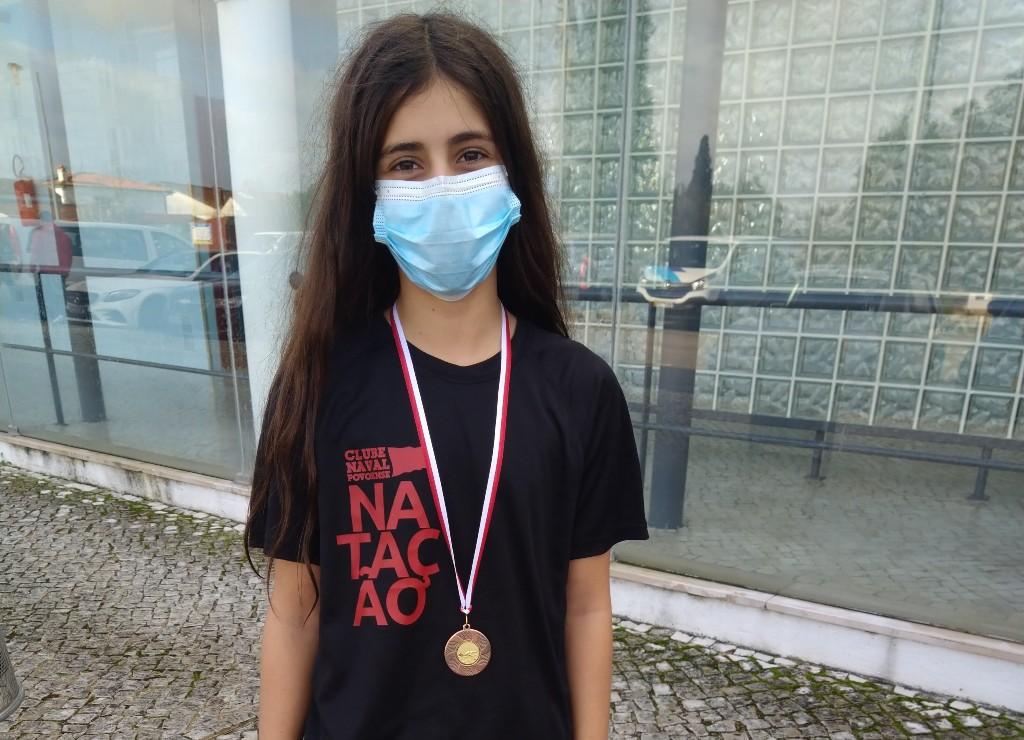 Matilde Silva de Bronze nos 200 Metros Mariposa