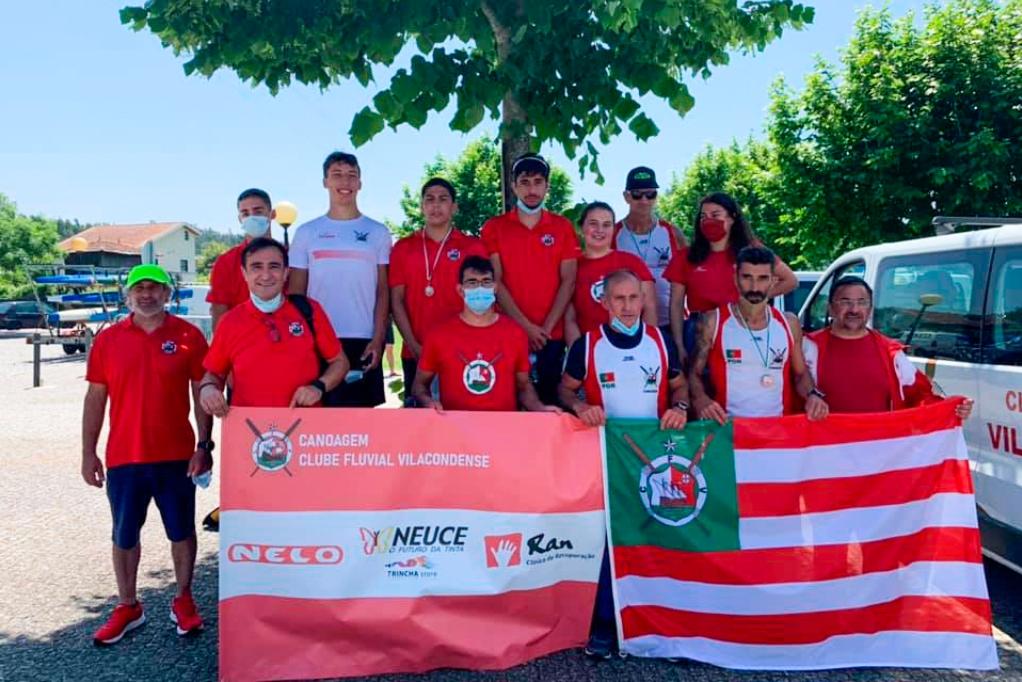 A Canoagem do CFV Conquistou Ouro e Bronze no Regional de Maratona