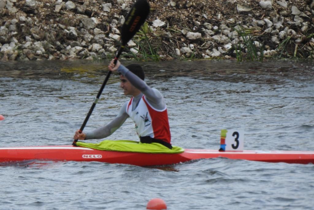 Canoagem: Pedro Canelas medalha de prata na categoria Cadete