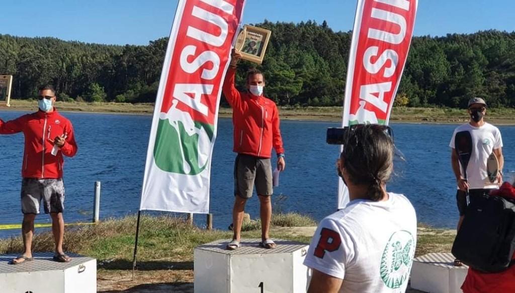 Poveiro é Vice no Campeonato Nacional SUP Race Maratona
