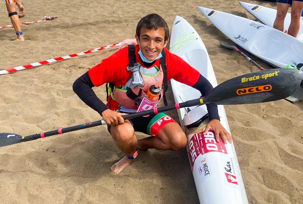Igor Andrade Foi Quinto no Mundial de Canoagem de Mar