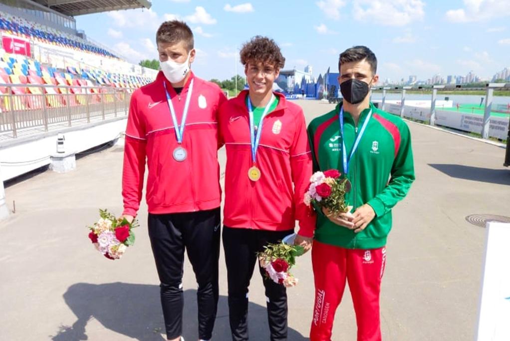 Rodrigo Santos de Bronze no Europeu de Maratona
