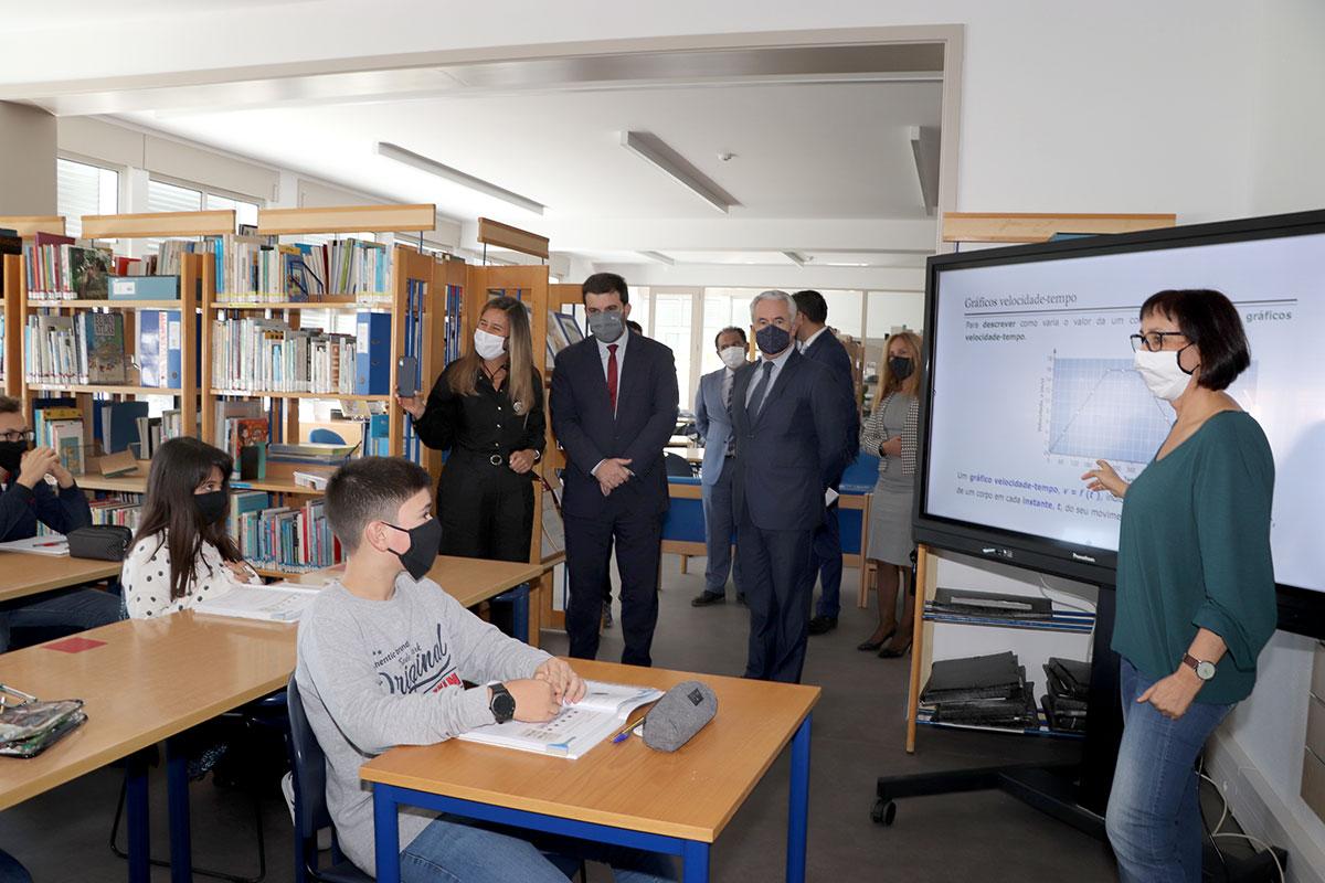 Escola Básica de Aver-o-Mar Mereceu a Presença de Ministro