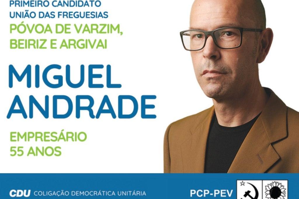 CDU: Candidato à União das Freguesias da Póvoa de Varzim, Beiriz e Argivai