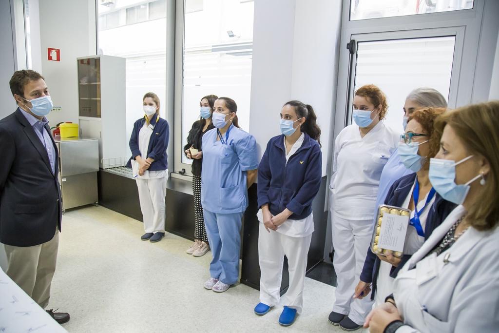 Mais Dez Camas em Nova Unidade Afecta ao Serviço de Medicina Interna