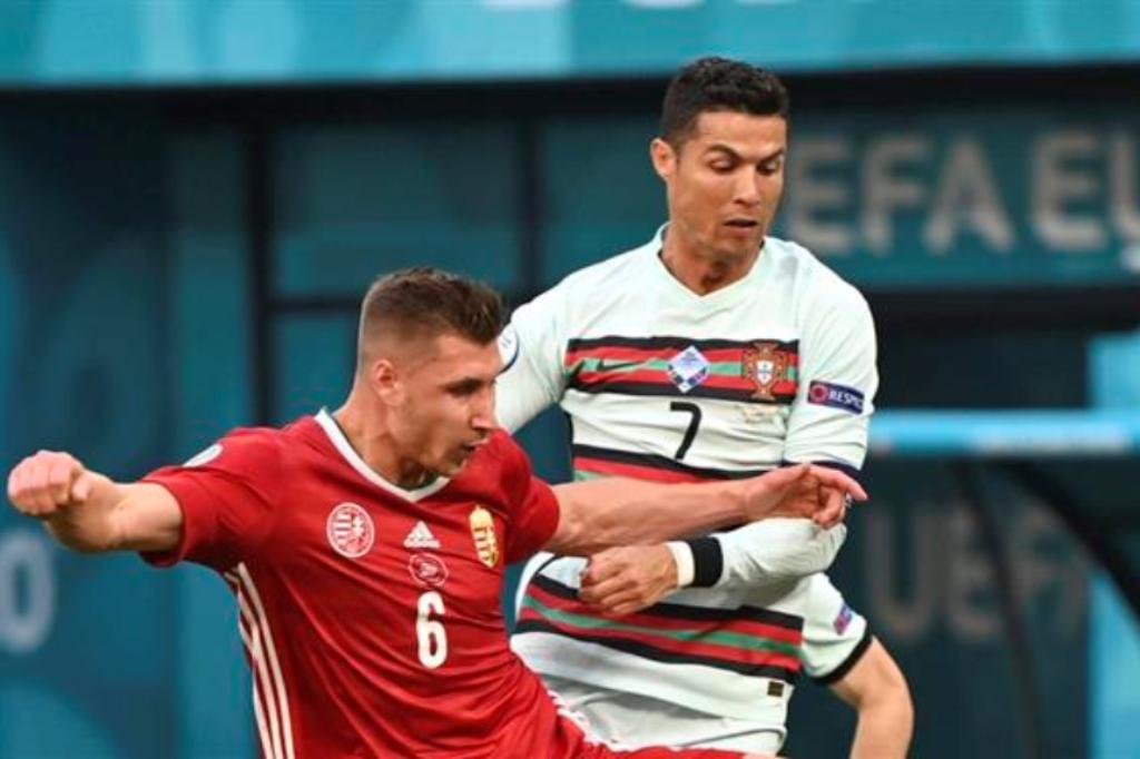 Ronaldo Bisou e É o Melhor Marcador em Fases Finais de Europeus
