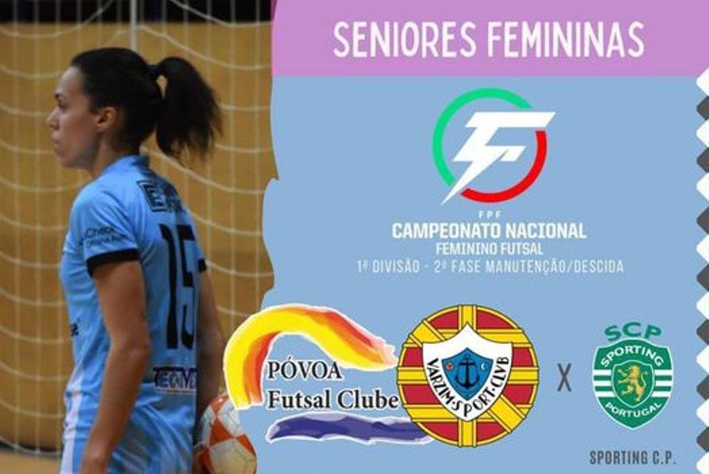 A Fase de Manutenção não Começou bem para o Póvoa Futsal Feminino