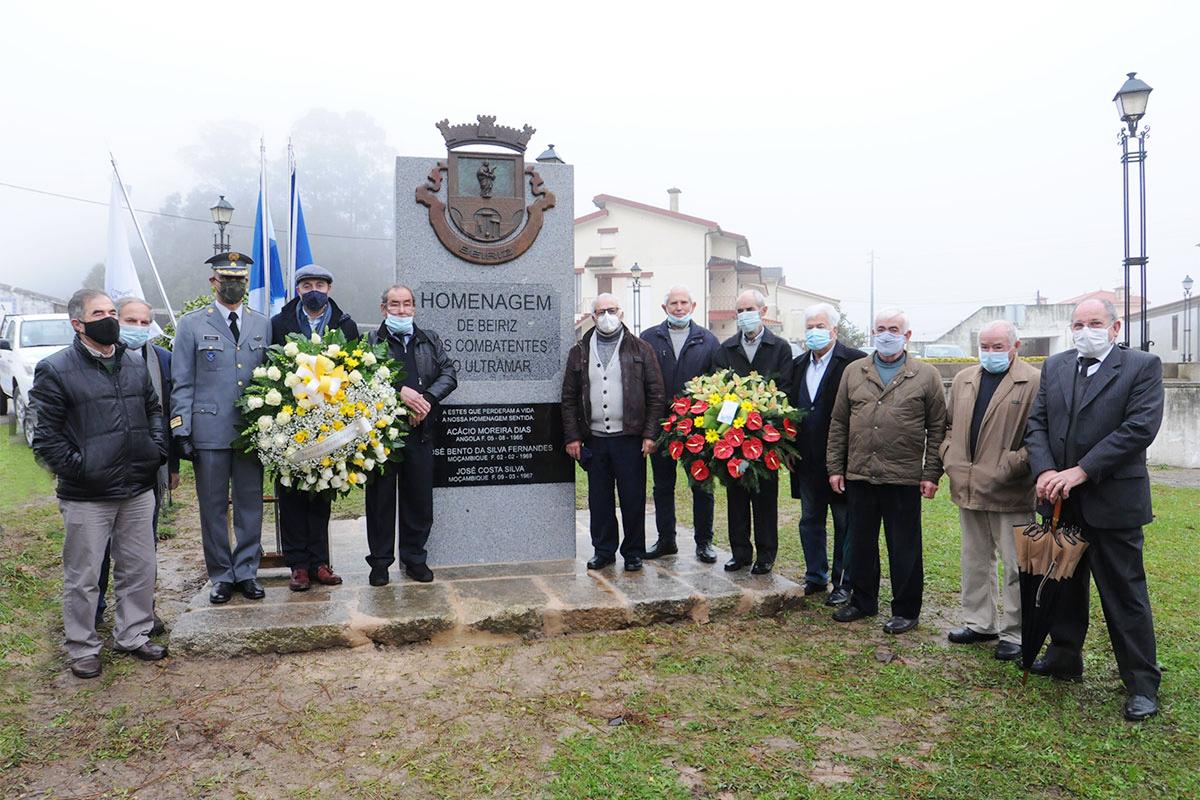 Antigos Combatentes têm Memorial em Beiriz