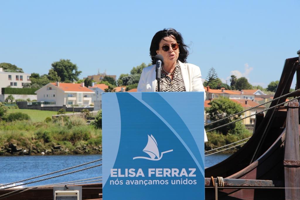 Elisa Ferraz Diz que Vila do Conde Estará Sempre em Primeiro