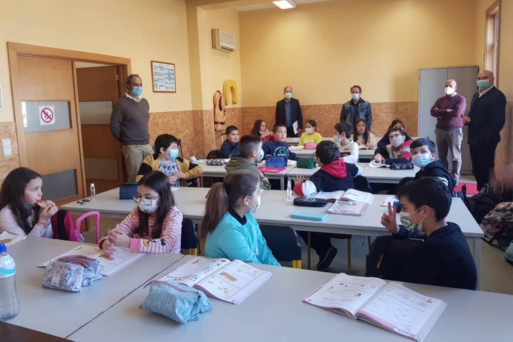 CNP: Luís Diamantino Visita Alunos da Escola do Mar