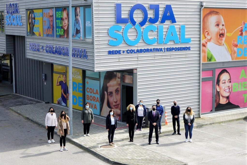 Inauguradas instalações da Loja Social Rede + Colaborativa