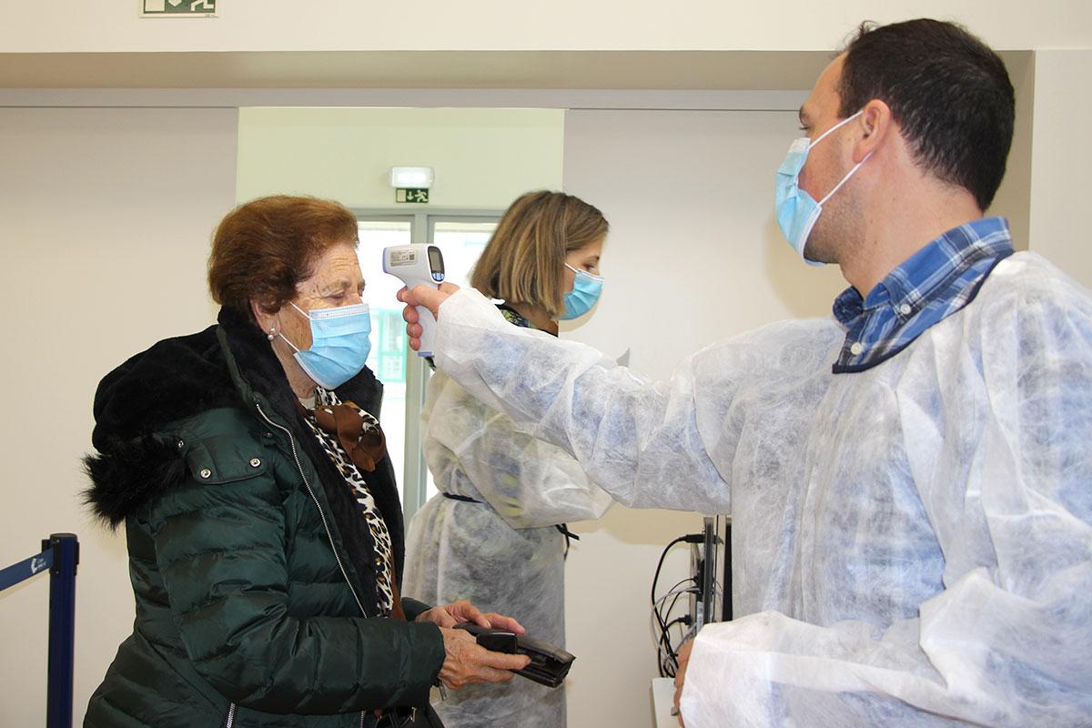 Foi Instalado em Aver-o-Mar o Centro de Vacinação COVID-19