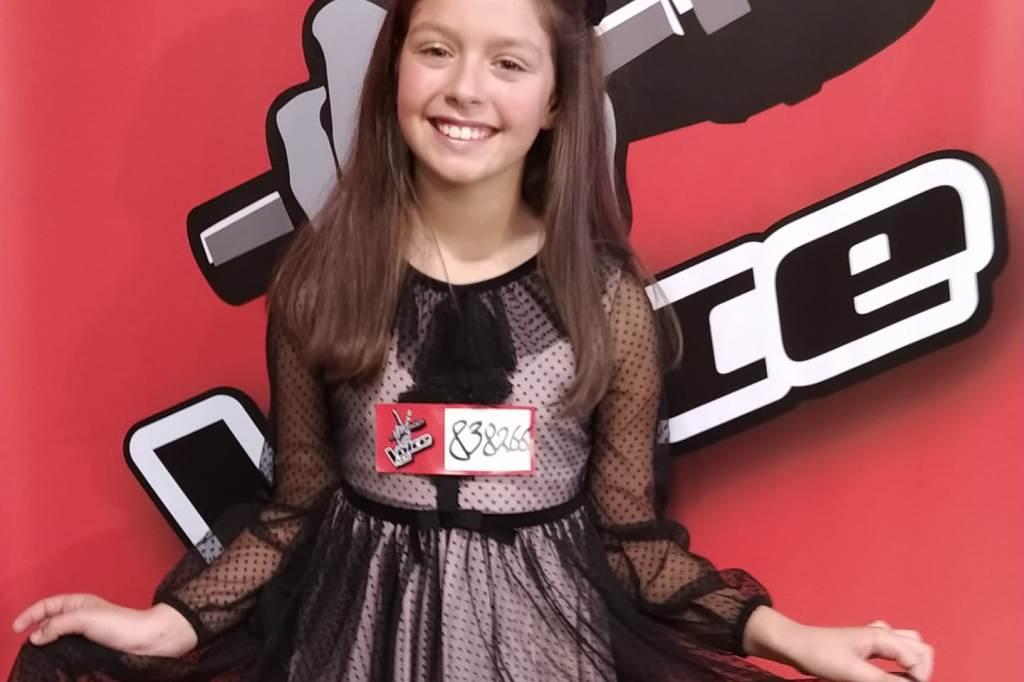 A Poveira Eva Moreira esta noite no The Voice