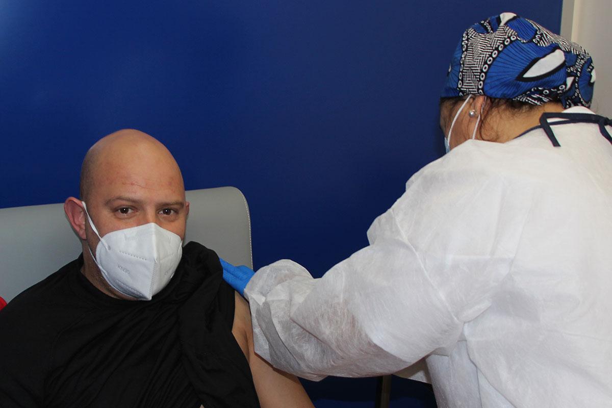Vacinação Chegou aos Bombeiros