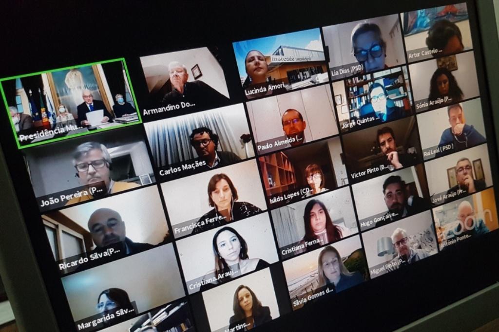 Assembleia Municipal em Videoconferência Entrou na Casa dos Poveiros