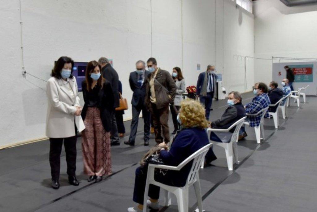 Centro de Vacinação de Vila do Conde Entrou ao Serviço