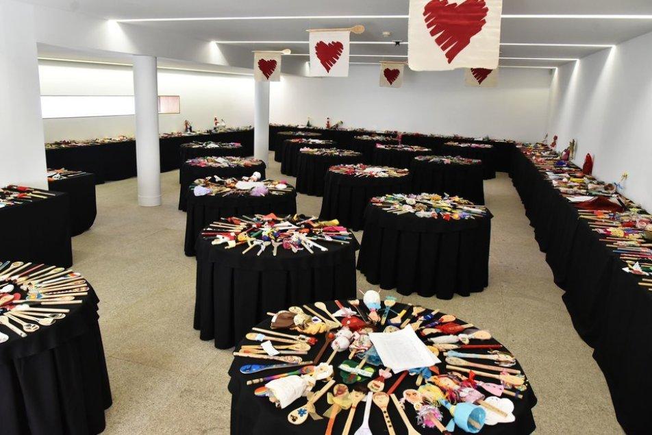 Centro de Memória Acolhe Exposição de Colheres de Pau