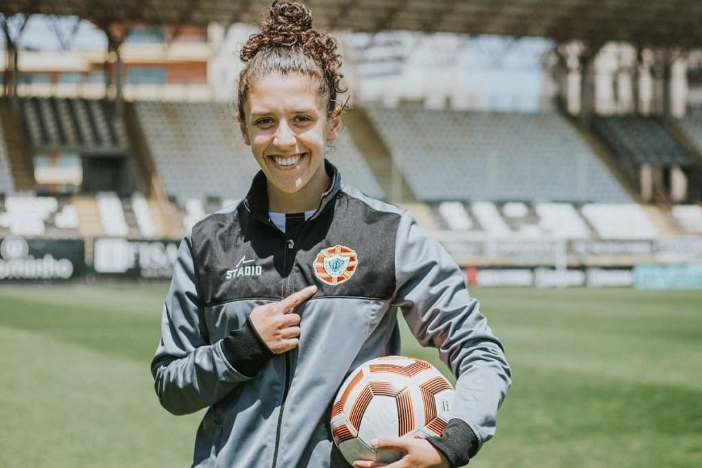 Cátia Batista Reforça Futebol Feminino do Varzim