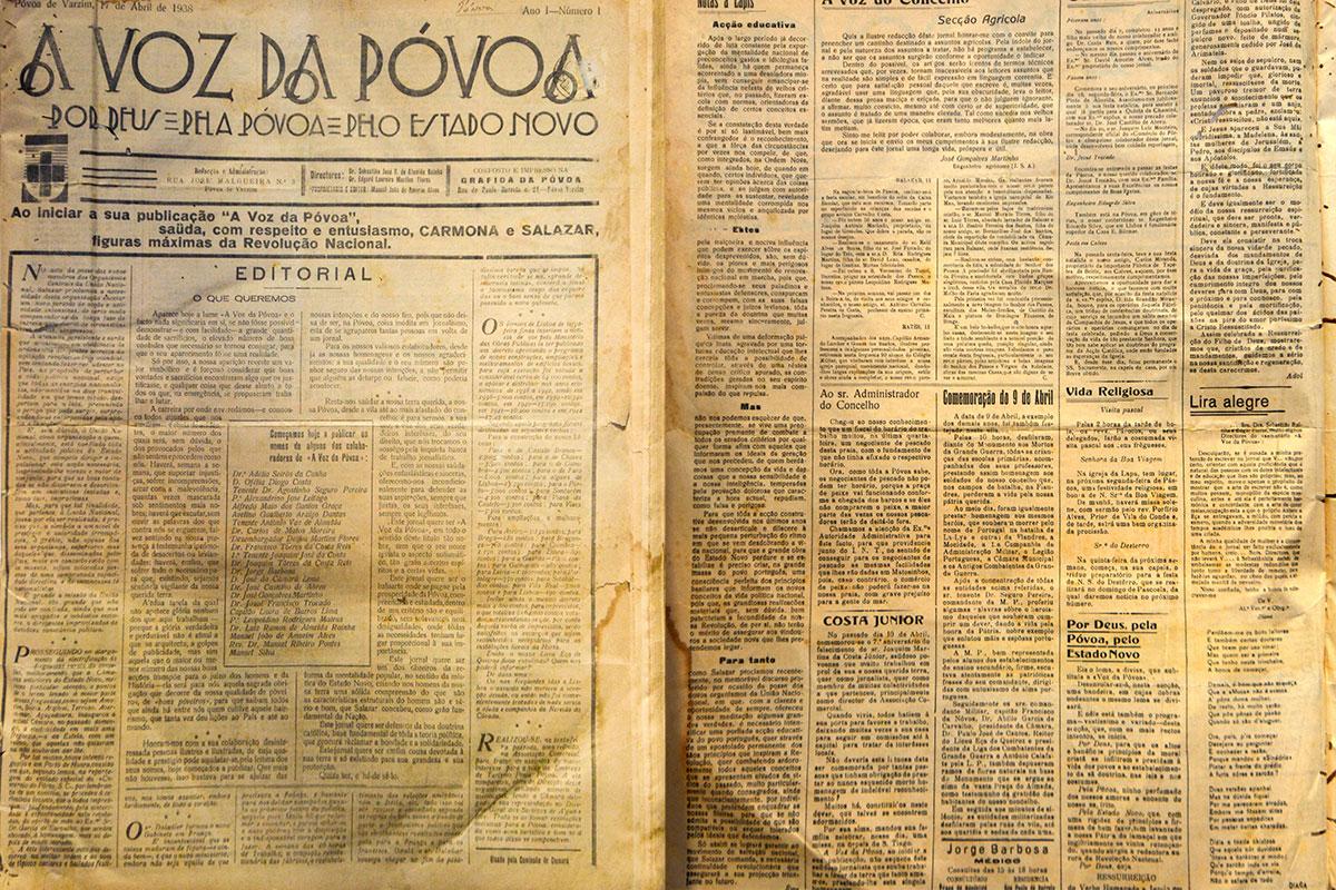 A Voz, em Palavras desde 1938
