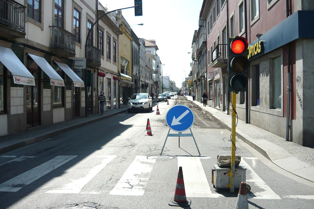 Obras na Nacional 13 Ditam Reabertura da Marginal ao Fim-de-Semana