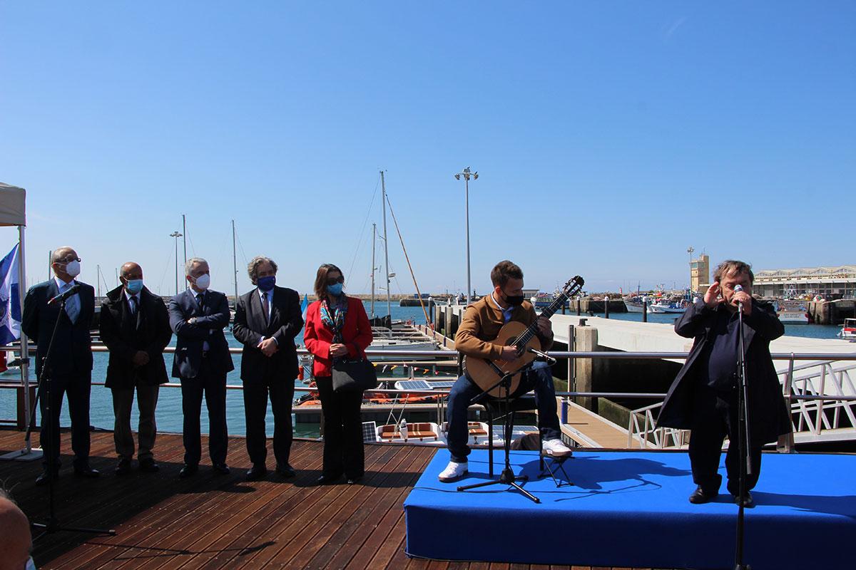 Ministro do Mar e Presidente da Câmara Inauguram Marina Norte