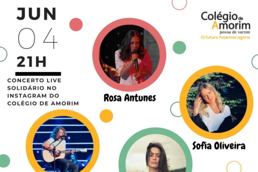 Colégio de Amorim Promove Concerto Solidário