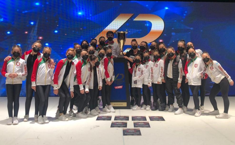 Gimnoarte Revalida pela Quarta vez o Título da Melhor Escola no All Dance