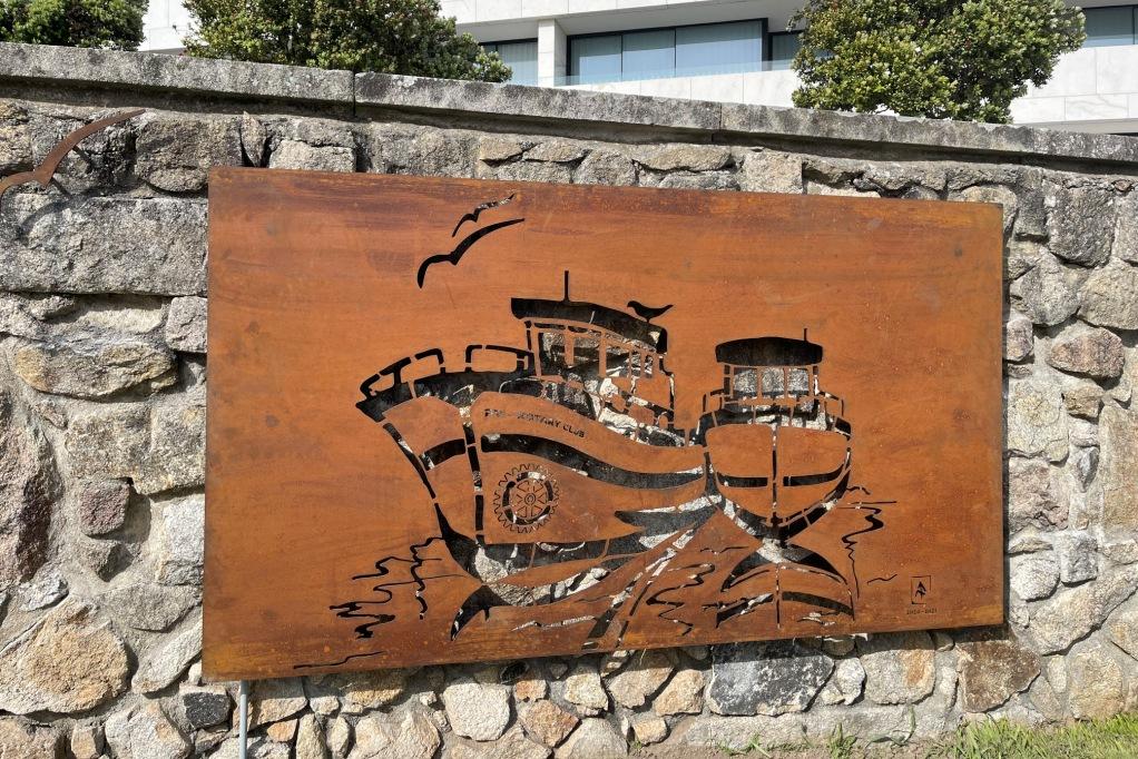 Rotary Club Dedica Mural aos Trabalhadores do Mar