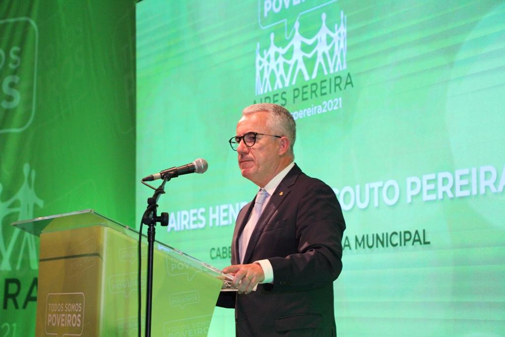 Aires Pereira Apresenta-se para Renovar Mandato