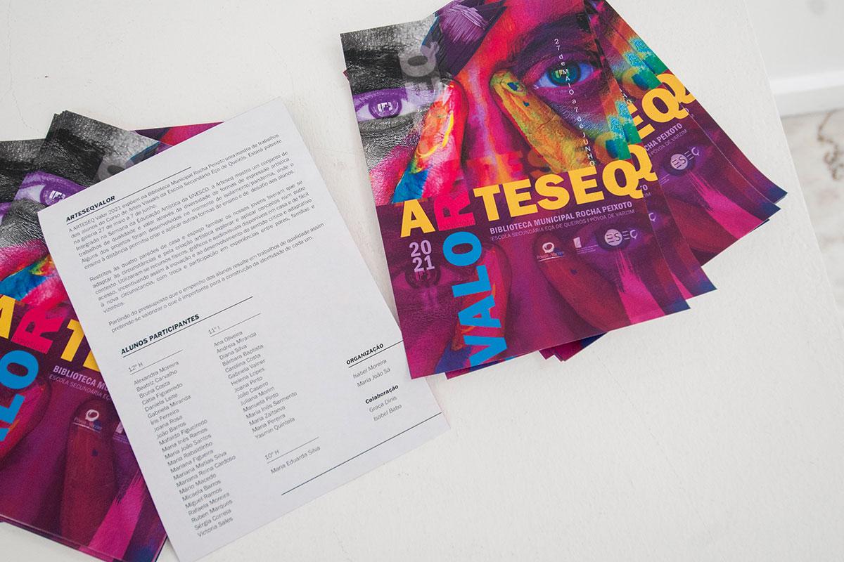 """A ARTESEQ Valor 2021"" Expõe na Biblioteca Rocha Peixoto"