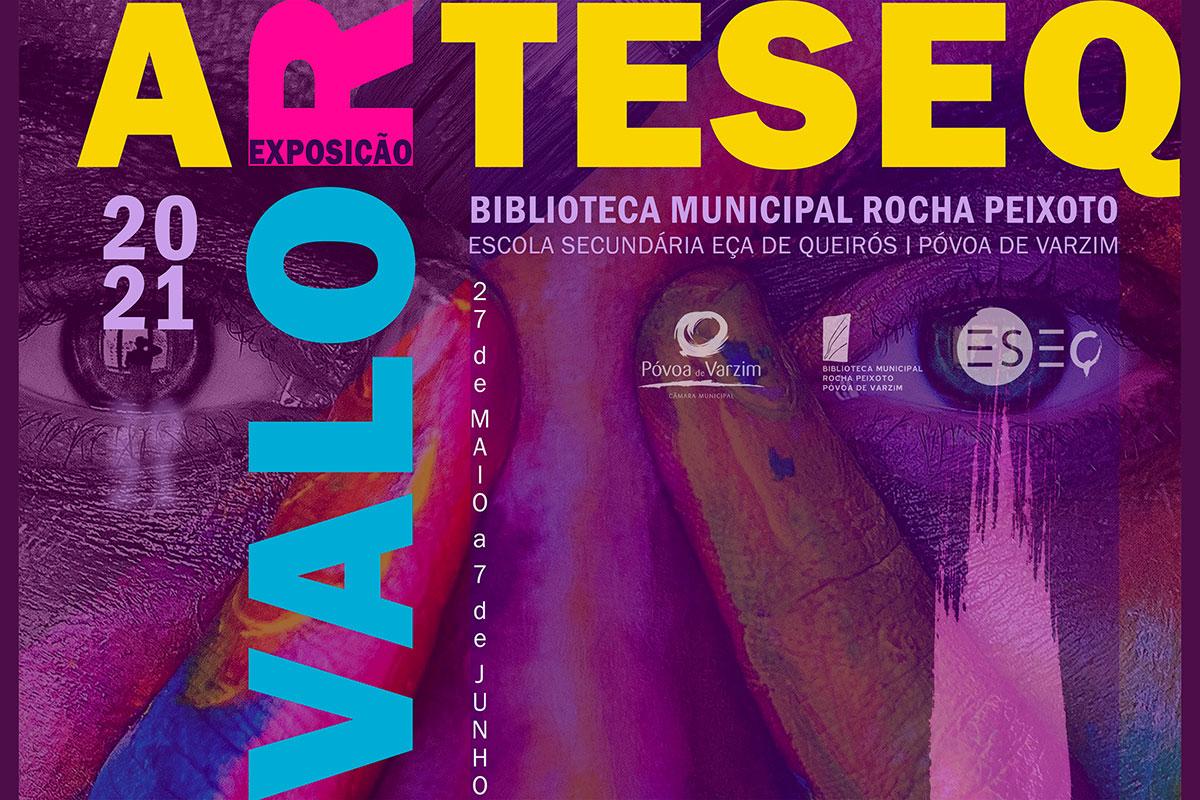 """""""A ARTESEQ Valor 2021"""" na Biblioteca Rocha Peixoto"""