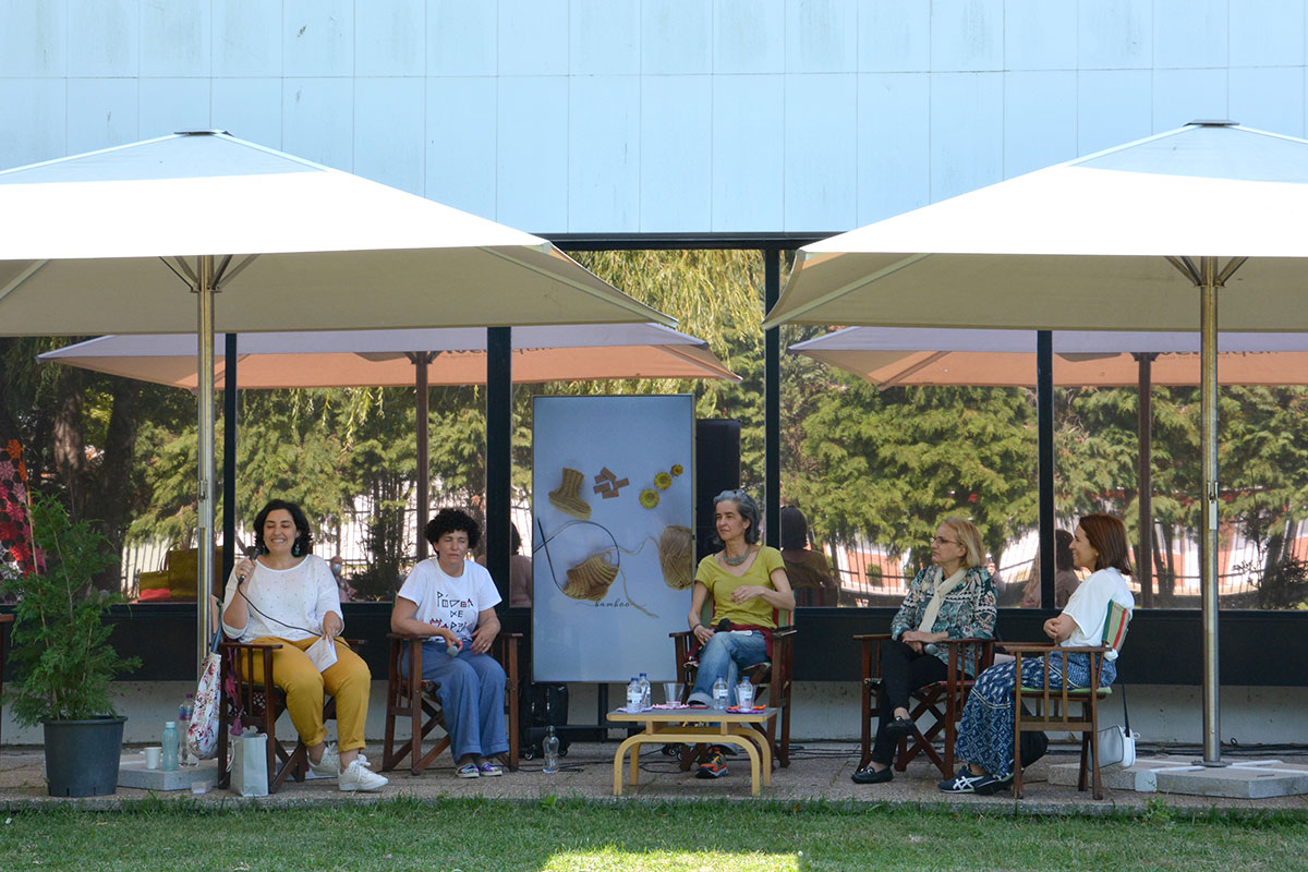 Festival dos Lavores no Jardim da Biblioteca Municipal Rocha Peixoto