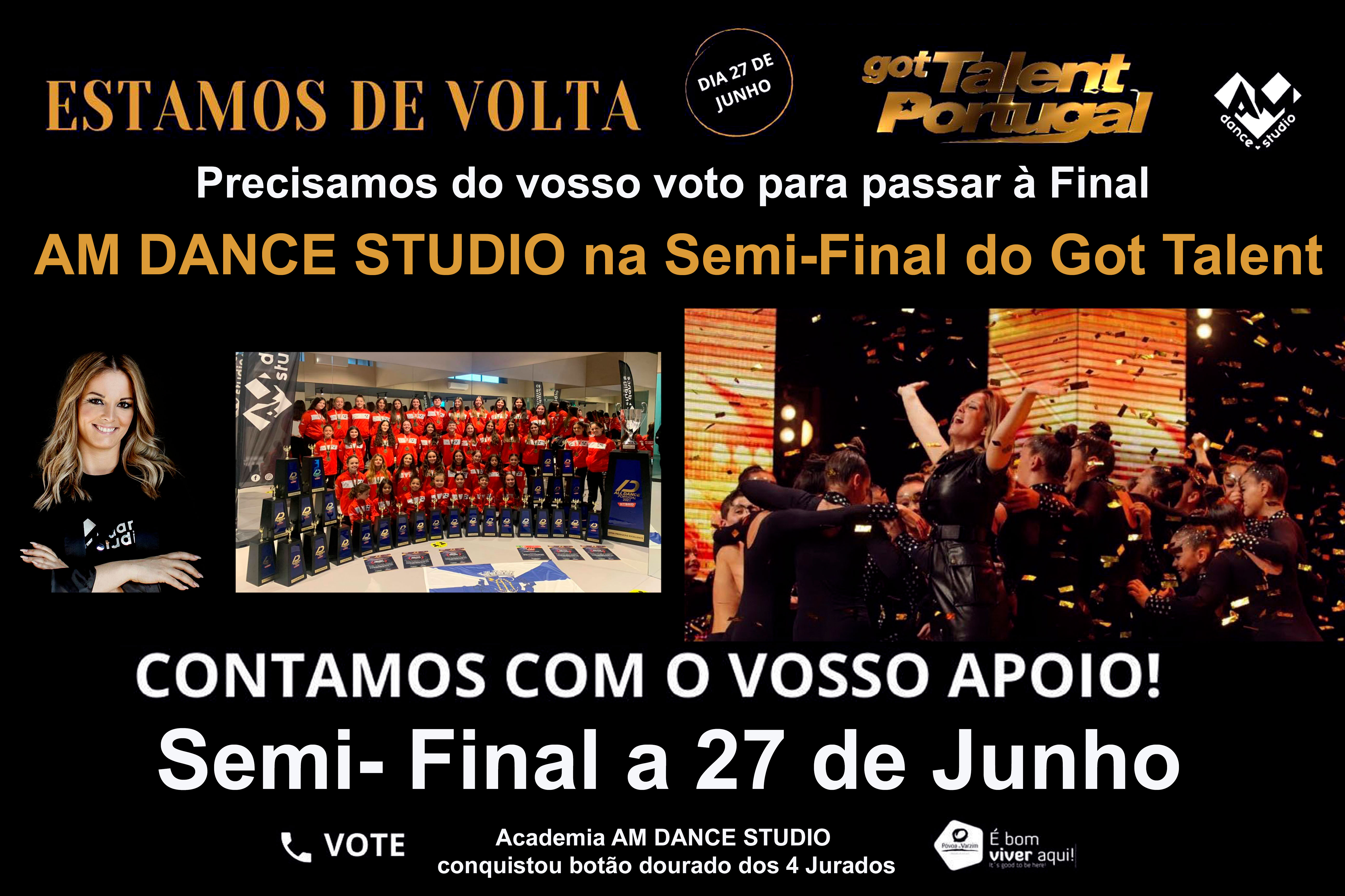 AM dance Studio Domingo no Got Talent