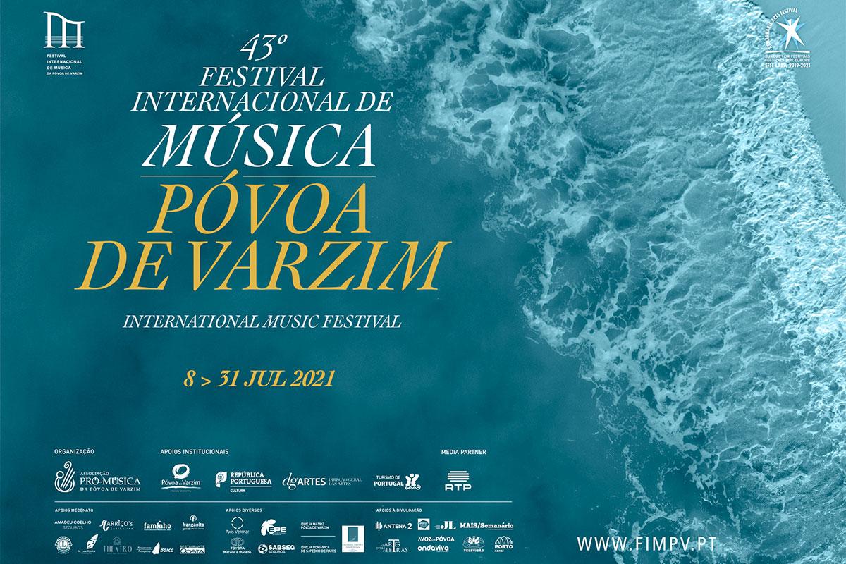Festival Internacional de Música da Póvoa de Varzim de 8 a 31 de Julho