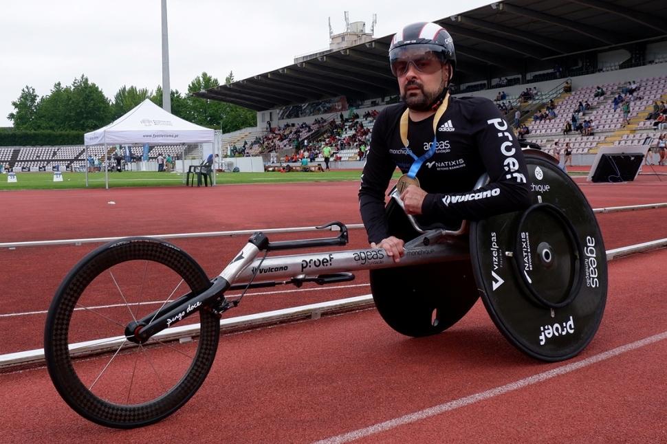 João Correia é campeão de Portugal nos 100 metros Pela Oitava Vez