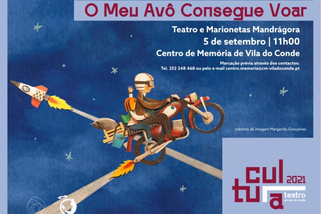 """""""O meu avô consegue voar"""" no Centro de Memória de Vila do Conde"""