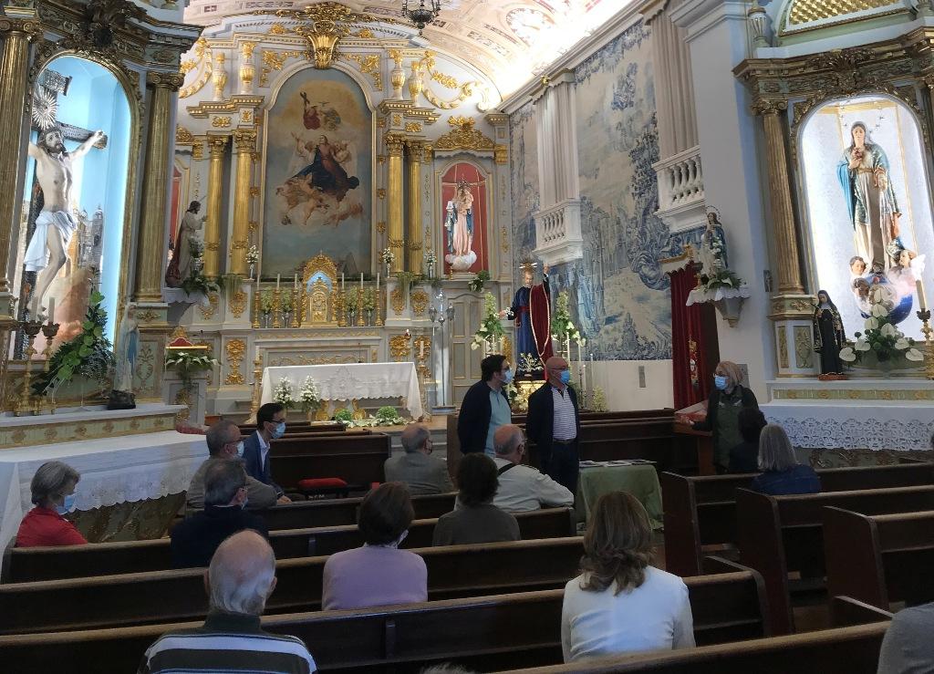 Igreja da Lapa numa Visita promovida pela Filantrópica