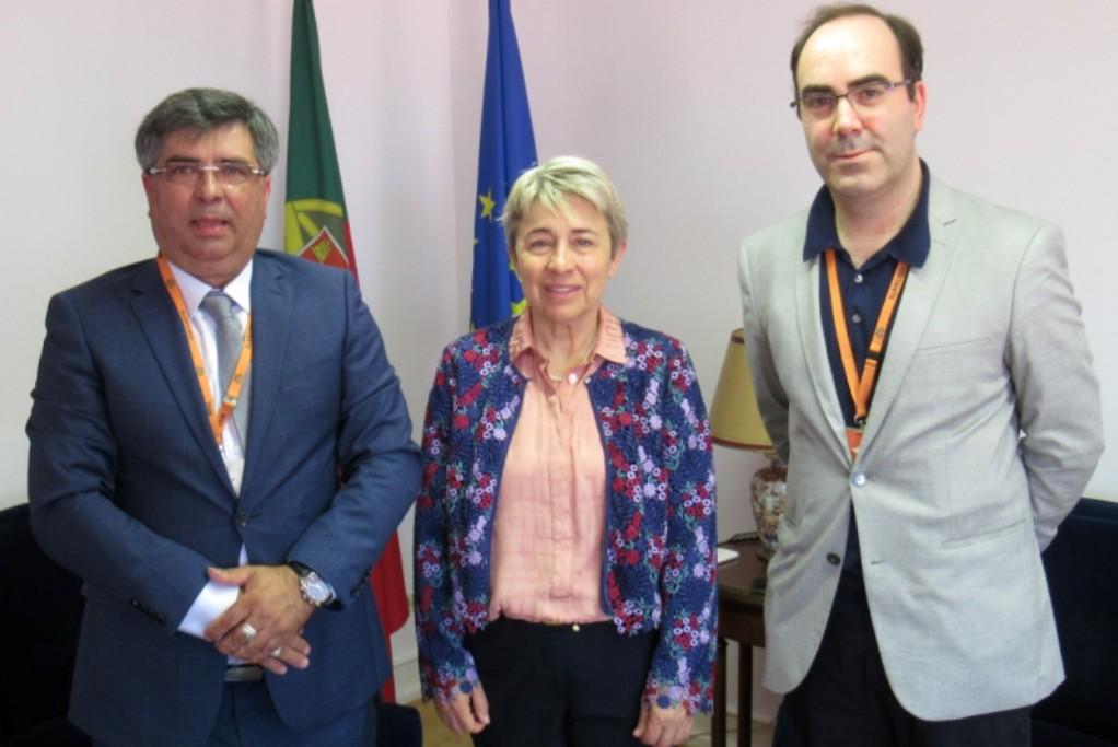 """""""Nova Era Jean Pina"""" reuniu com a Secretária de Estado das Comunidades"""