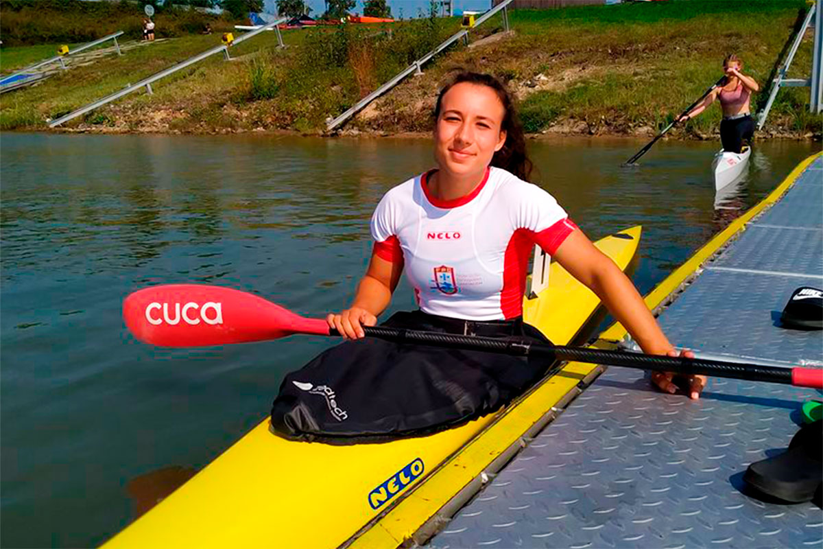Canoístas do Fluvial no Olympic Hopes Regata Prometem